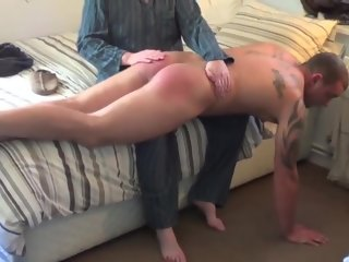 spank Dad gives a in favour spank dad