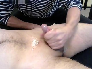 years 70 years oldman with asian cock handjob oil massage 70